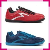 Sepatu Futsal Specs Quark IN - Chestnut Red / Galaxy Blue Original