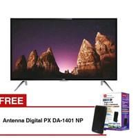 TCL LED SMART TV 32 Inchi Hitam L32S4900 Free Antena Digital