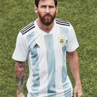 Jersey Negara Argentina Piala Dunia 2018 Terbaru Import Baju Bola Dewa