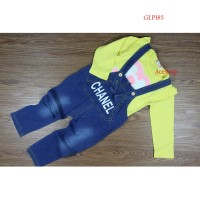 Set Overal Anak Cewek   Baju Setelan Anak Import