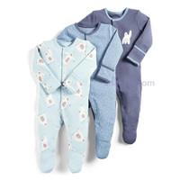 Mamas & Papas Sleeping Yeti / Jumper Tidur / piyama bayi / baju tidur