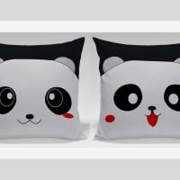 Bantal Hias Dekorasi Valentine - Panda Smile