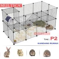 Multica Kandang Pagar Anjing Kucing Pet Cage Rabbit Tipe P2