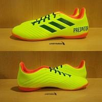 Adidas Predator Tango 18.4 IN - Yellow. Sepatu Futsal Murah Diskon.