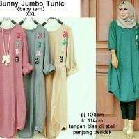 bunny jumbo tunic kaos jumbo blouse jumbo baju jumbo wanita baju murah