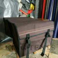 Tas Motor (Saddle bag) bahan kanvas tebal