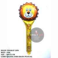 Balon Foil TONGKAT LION / Balon Pentung / Balon Karakter