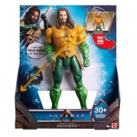 Aquaman 12 Lights and Sounds Trident Strike Aquaman Figure