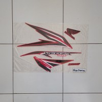 sticker striping motor honda verza 150 2014