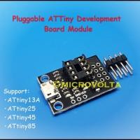 Pluggable ATTiny13A ATTiny85 DIP Development Board