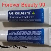 Glikoderm 4 skin smoothing cream - krim mencerahkan & anti kerut