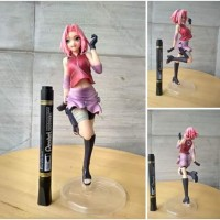 mainan action figure sakura naruto movie series tinggi sekitar 8 inch