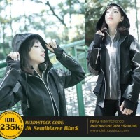 Jaket Distro Jepang Harajuku Assassin Glove - JK Semiblazer Black