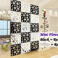 VINTAGE 3D LITTLE MINI FLOWER TIRAI GANTUNG / PARTISI PENYEKAT RUANGAN