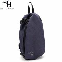 XB0045-Tas Selempang Arctic Hunter Sling Bag Mens Crossbody Bags USB