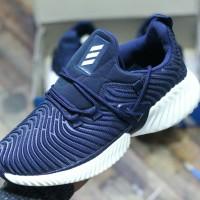 SEPATU ADIDAS RUNNING MAN) Sepatu Slop Running Pria Import