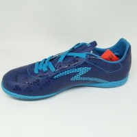 Sepatu futsal specs quark in galaxy blue original new 2018