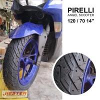 Ban Motor Aerox Ban Pcx Pirelli Angel Scooter 120/70 140/70 14 1 set
