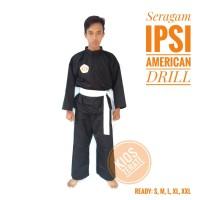 (terlaris) seragam silat baju pencak IPSI Setelan american drill