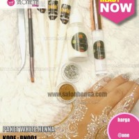 Henna Putih Paket Glamour WH006