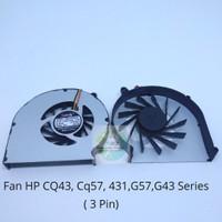 Fan Processor Laptop HP Compaq CQ57 430 431 435 436 G57 G43 CQ43