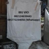 jumbo bag bekas susu dan bekas tepung kapasitas 1 ton