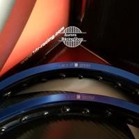 PRODUK ORIGINAL Velg TDR Wx Shape Two Tone Set Ring 17 x 140 - 140