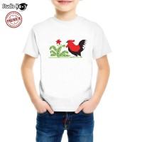Kaos / Baju Anak Ayam Jago - Free Cetak Nama