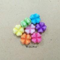 Manik Bunga Semanggi | bahan aksesoris gelang kalung handmade craft