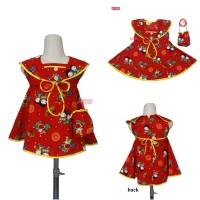 Dress Sanghai Uk Bayi - 5 Tahun (GARTIS TAS) / Baju Imlek Anak Cewek