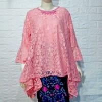 Baju kebaya murah/blouse brokat big sizr/baju jumbo/atasan big size