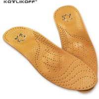 Leather Insole for Flat Foot Arch Support 25mm