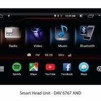 AVT DAV 6767 head unit android simcard 4G