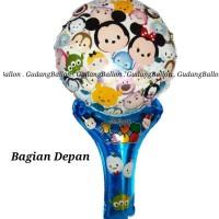 Balon Pentung Tsum Tsum / Balon Tongkat / Balon Ulang Tahun / Souvenir