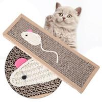 Cat Scratch Pad Board Mainan Papan Garukan Kucing kitten Scratcher