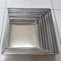 Loyang Kue lapis surabaya kotak / Loyang bolu gulung uk22cm Tinggi 4cm - 18cm