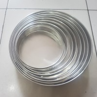 Loyang Kue lapis surabaya bulat / Loyang bolu gulung uk20cm Tinggi 4cm