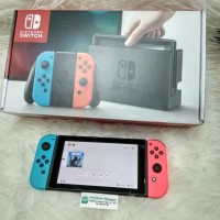 Nintendo Switch Neon Blue Red FULL GAME OFW ANTI BANNED Seken Mulusss