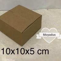 kardus/karton/box uk. 10x10x5 cm untuk packing , MP