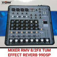 Mixer Audio TUM RMV8/2FX utk Karaoke, Audio, Studio, Recording