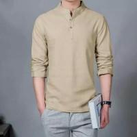 Baju Kemeja Ham Hamish Coksu Fashion Pria Formal Casual Koko Panjang
