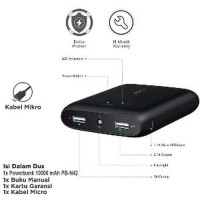 Aukey PB N42 series pocket powerbank 10000 mah original auke BYpb511