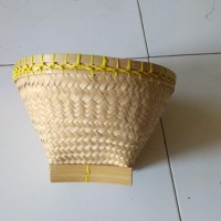 Bakul Nasi Bambu Diameter 25Cm