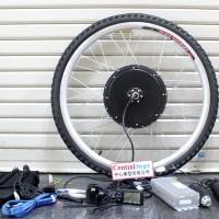 KIT dinamo sepeda listrik 48V 1000W ban 26 x 1.75 sepeda gunung MTB 26