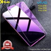 Tempered Glass Vivo Y91 Y93 Y95 Anti Blue Light Anti Gores Kaca
