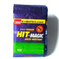 Obat Nyamuk Bakar Hit Magic Kertas Ajaib 1 Renceng Isi 10s @0,4gr/pcs
