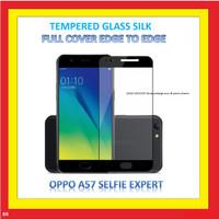 ANTI GORES TEMPERED GLASS SILK OPPO SELFIE EXPERT A57 BLACK 906840