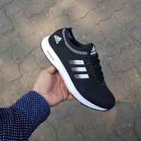 Adidas Climacool Import / Black White / Sepatu Wanita Running Casual