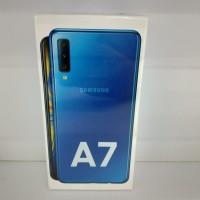 Samsung Galaxy A7 2018 Blue 4gb/64gb NEW Garansi Resmi Original SEIN