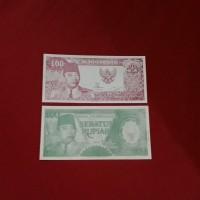uang kuno 100 rupiah soekarno melengkung